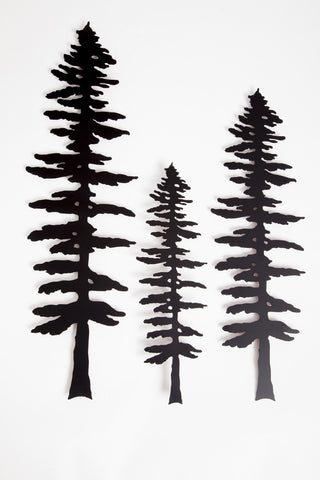 Sitka Trees - Wall - Metal Art - The Cuckoo's Nest - 2