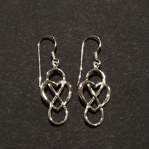 Earrings - Infinity Heart - Jewellery - The Cuckoo's Nest