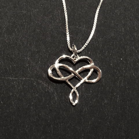 Pendant - Infinity Heart - Jewellery - The Cuckoo's Nest