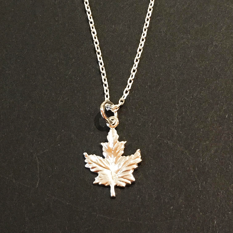 Pendant - Maple Leaf