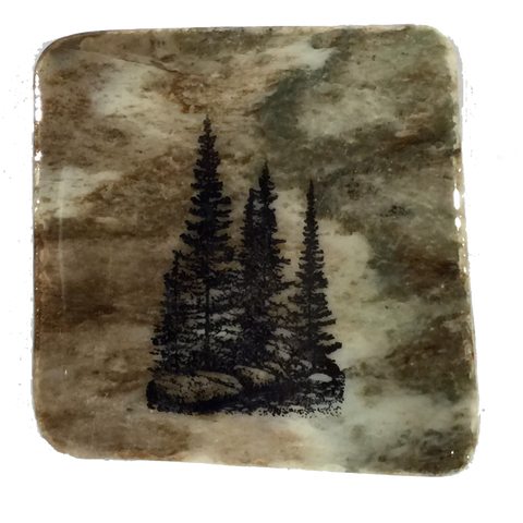 Small Group of Trees - Coasters - The Cuckoo's Nest