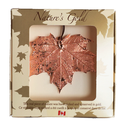 Maple Leaf Ornament - Copper - Ornaments - The Cuckoo's Nest