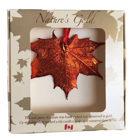 Maple Leaf Ornament - Iridescent - Ornaments - The Cuckoo's Nest