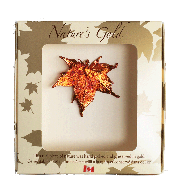 Maple Leaf Pendant - Iridescent - Jewellery - The Cuckoo's Nest