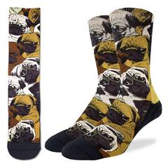 Social Pugs Active Fit Socks