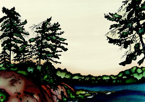 Muskoka Series - #164 - Canadian Art - The Cuckoo's Nest