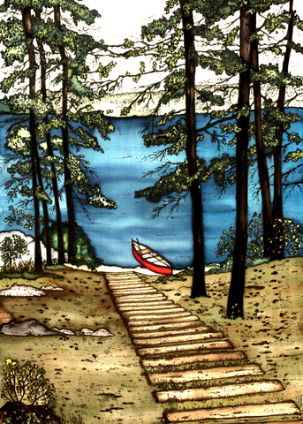 Muskoka Series - #165 - Canadian Art - The Cuckoo's Nest