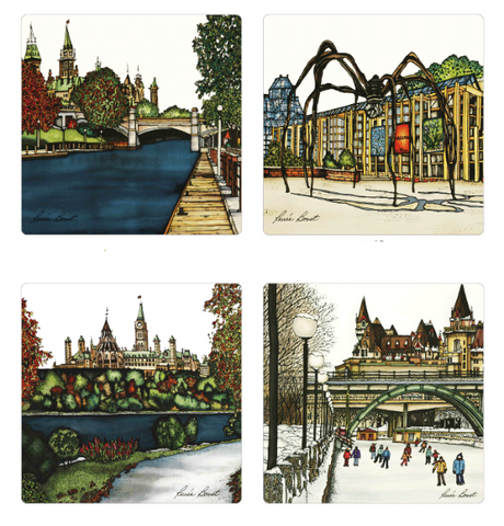 Coasters - Ottawa Collection - Coasters - The Cuckoo's Nest