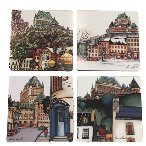 Coasters - Quebec City Collection