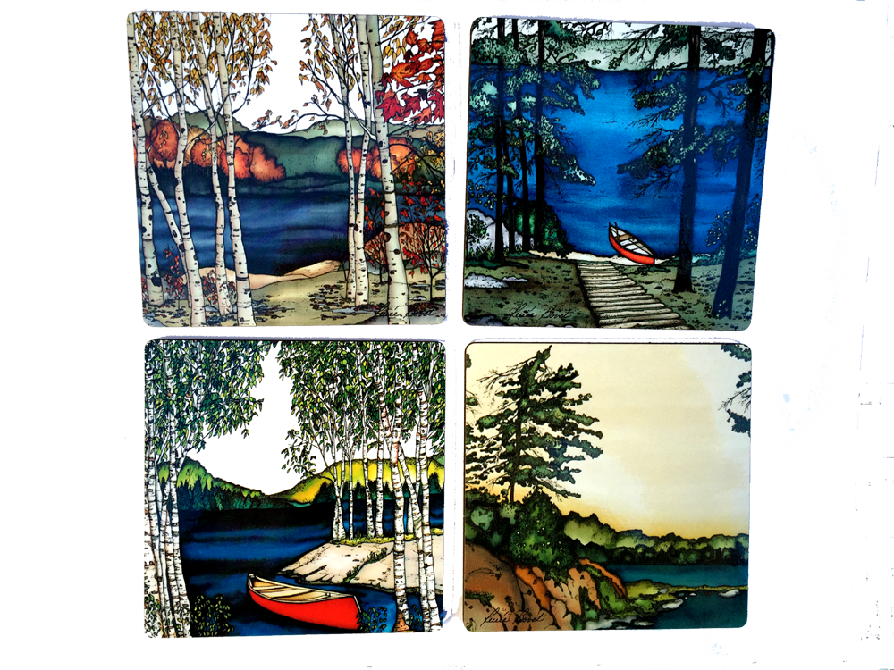 Coasters - Muskoka Series Prints - Coasters - The Cuckoo's Nest