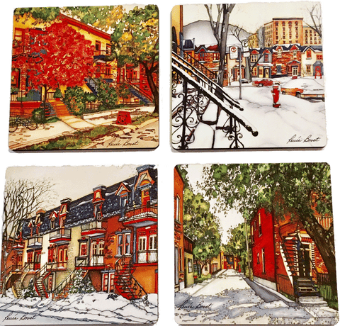 Coasters - Montreal Seasons