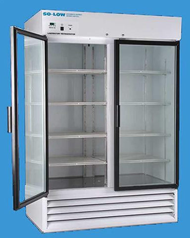 Glass Door Laboratory Freezers by So-Low Accessories