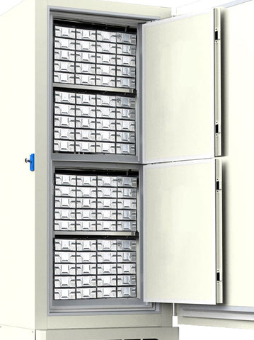 "SST Storage Drawers with 2"" Boxes for Ai Glacier ULT Freezers image"