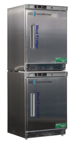 ABS Premier Pharmacy SS Combo Refrigerator and Freezer image