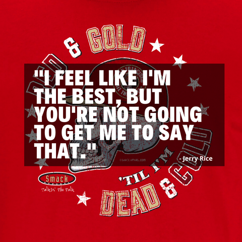 Funny Jerry Rice Quote