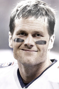 Ladies and gentlemen, your Super Bowl LX MVP ... Tom Brady. (Illustration: Aging Booth)