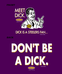 This pretty much sums it up for Baltimore re. the Steelers.
