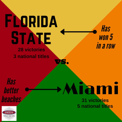 Hey, everybody! It's FSU-Miami week! Um ... hello? Anyone? Hello?