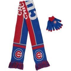 Chicago Cubs Gift Idea (Scarf and Gloves)