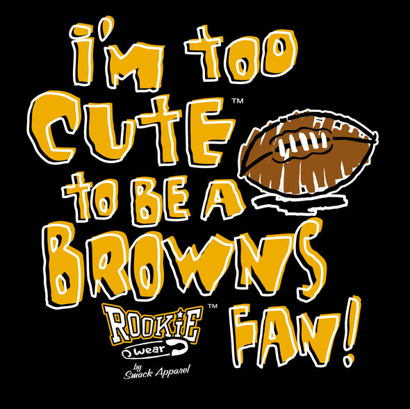 Unlicensed Pittsburgh Pro Football Baby Bodysuits or Toddler Tees | Is It Just Me or Do the Browns / Ravens Stink?!