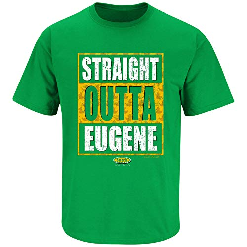 Oregon College Apparel | Shop Unlicensed Oregon Gear | Straight Outta Eugene Shirt