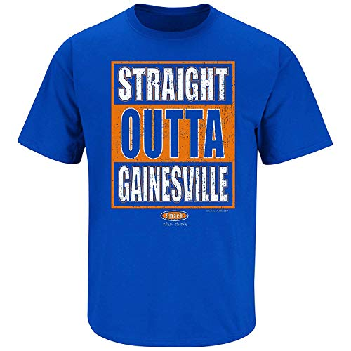 Florida Fan Apparel | Shop Unlicensed Florida Gear | Straight Outta Gainesville Shirt