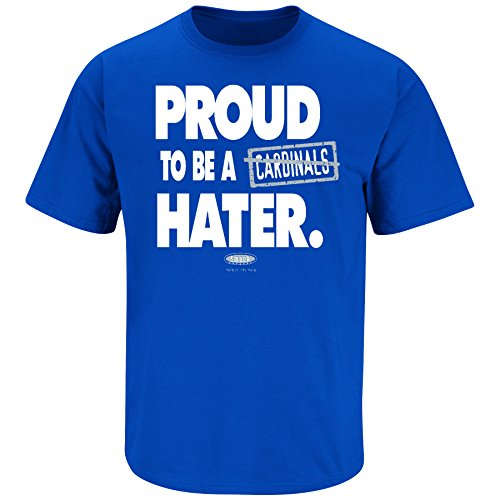 Smack Apparel Kentucky Fans. Proud to Be A Hater Blue T-Shirt (S-5X)
