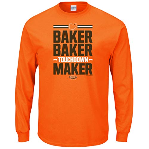 Cleveland Football Fans. Baker Baker Touchdown Maker Shirt