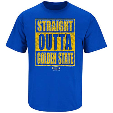 Golden State Pro Basketball Apparel | Shop Unlicensed Golden State Gear | Straight Outta Golden State Shirt
