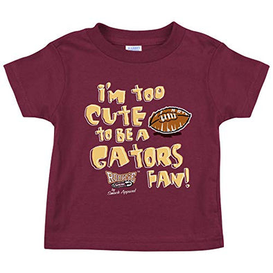 Unlicensed Florida State College Sports Baby Bodysuits or Toddler Tees | Too Cute to be a Gators Fan!