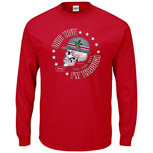 Ohio State Fan T-Shirt | Buy Gear for Fans of Ohio State | Ohio True 'Til the Day I'm Through