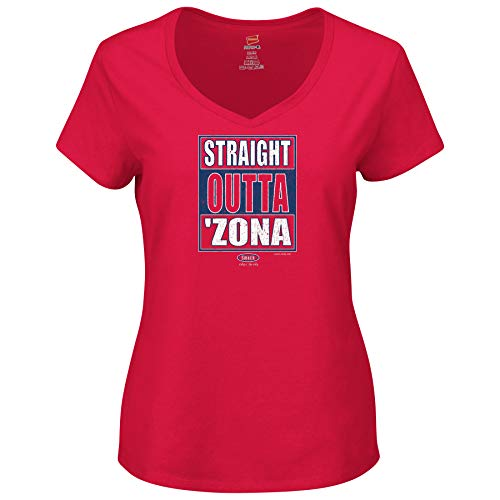 Arizona Pro Football Unlicensed Ladies Apparel | Straight Outta 'Zona Ladies Shirt