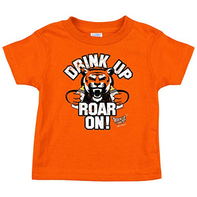 Cincinnati Football Fans. Drink Up Roar On! Baby Onesie or Toddler T-Shirt