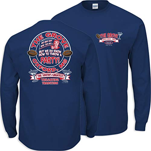 Ole Miss Football Fans. The Grove. The South's Greatest Tailgating Tradition Shirt