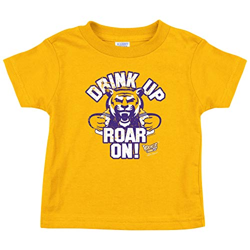 Louisiana State Football Fans. Drink Up Roar On! Onesie or Toddler T-Shirt