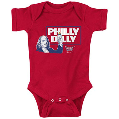 Philadelphia Baseball Fans. Philly Dilly Baby Onesie or Toddler T-Shirt