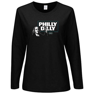 Philadelphia Pro Football Unlicensed Ladies Apparel | Philly Dilly Ladies Shirt