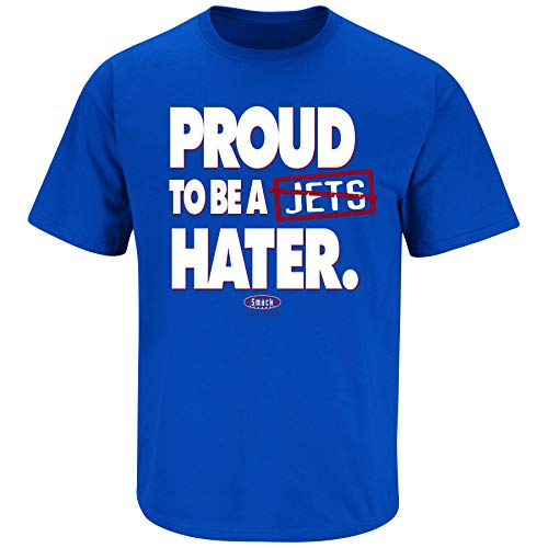 Buffalo Pro Football Apparel | Shop Unlicensed Buffalo Gear | Proud to be a Jets Hater Shirt