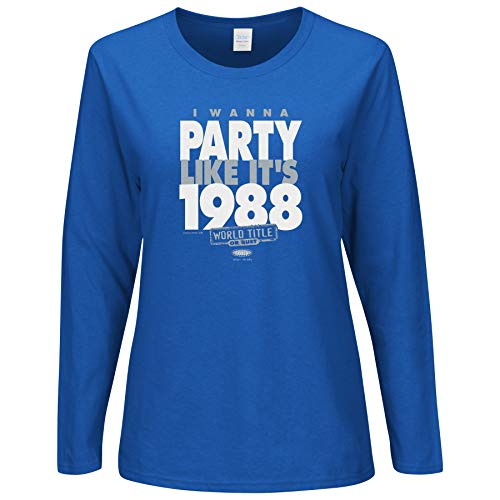 Los Angeles Pro Baseball Unlicensed Ladies Apparel | Party Like It's 1988 Ladies Shirt