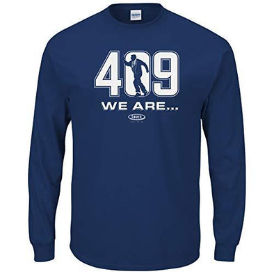 Smack Apparel Penn State Football Fans. We are 409 Navy T-Shirt (Sm-5X)