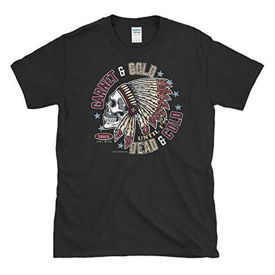 Florida State Football Fans. Garnet and Gold Till I'm Dead and Cold Black T-Shirt (Sm-5X)