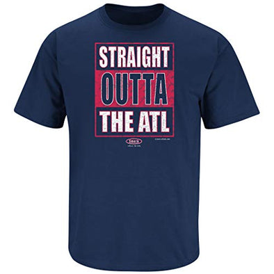 Atlanta Pro Baseball Apparel | Shop Unlicensed Atlanta Gear | Straight Outta the ATL Shirt