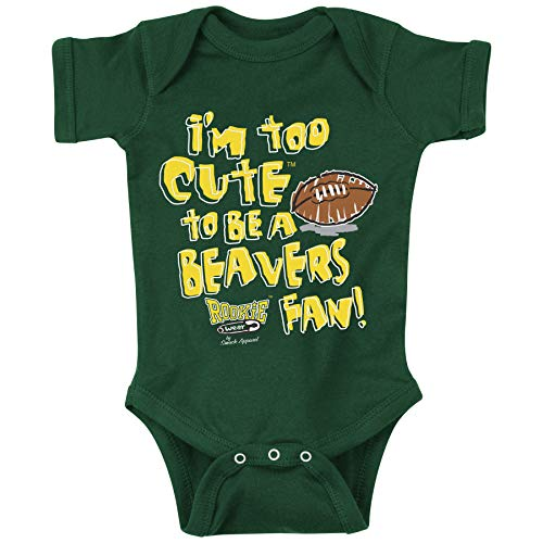 Oregon Football Fans. Too Cute Green Onesie (NB-18M) & Toddler Tee (2T-4T)