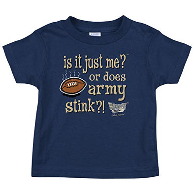 Navy Football Fans. is It Just Me? Or Does Army Stick?! Onesie or Toddler T-Shirt