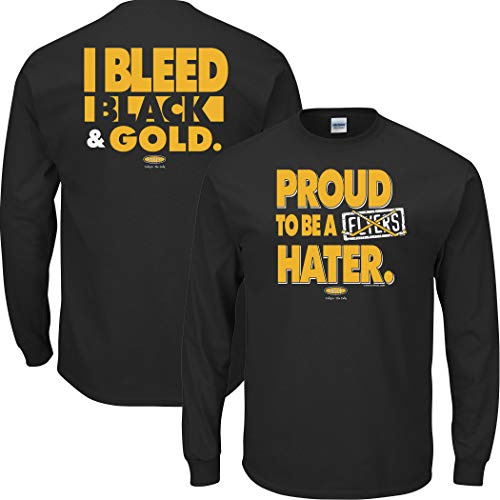 Pittsburgh Pro Hockey Shirt | Buy Pittsburgh Hockey Gear | Proud to be a Flyers Hater (Anti-Philadelphia) Shirt
