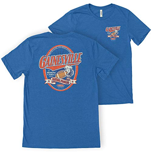 Florida Fan Apparel | Shop Unlicensed Florida Gear | Gainesville A Drinking Town with A Football Problem Shirt