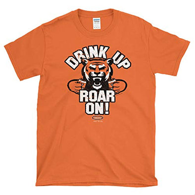 Cincinnati Pro Football Apparel | Shop Unlicensed Cincinnati Gear | Drink Up Roar On! Shirt