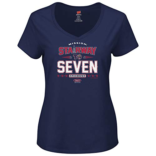 New England Pro Football Unlicensed Ladies Apparel | Stairway to Seven Ladies Shirt