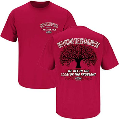 Alabama College Sports Apparel | Shop Unlicensed Alabama Gear | Updyke's Tree Service Shirt