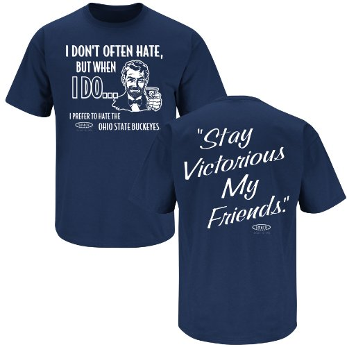 Stay Victorious Anti-Longhorns I Dont Often Hate Sm-5X Smack Apparel Texas A/&M Football Fans Maroon T-Shirt